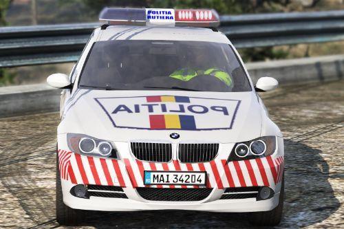 2006 BMW 330D Politia Romana