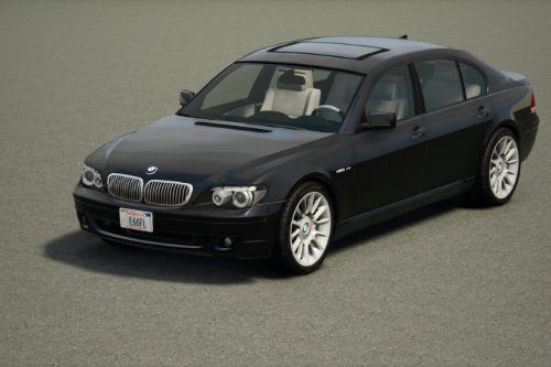 2006 BMW 760Li Individual (E66/FL) [Add-On / Replace | Extras | Tuning]