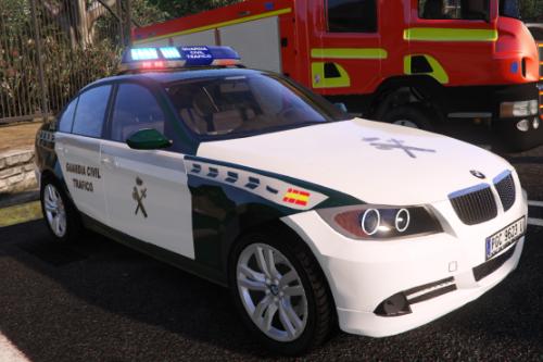 2006 BMW Serie 3 E90 Guardia Civil Trafico Spain police BMW [Replace-ELS]