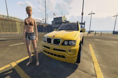 2006 BMW X5 Drift Handling Mod