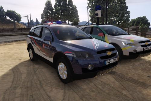 2006 Chevrolet Captiva C100 VCDI UAPO Policia Local Zaragoza [FiveM-Replace]