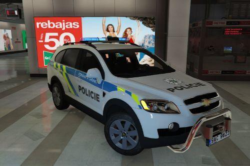 🇨🇿 Policie Česká Republika 2006 Chevrolet Captiva (Czech Police/Policia Checa) [No-els/Replace]