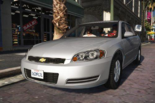 2006 Chevrolet Impala [Add-On/Replace | Template | Taxi]