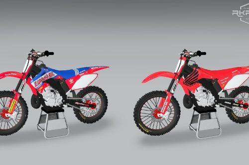 2006 Honda CR250 - Lucas Oil & Special Edition Graphics
