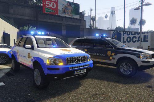 2006 Volvo XC90 V8 Policia Local y Proteccion Civil Canaria (Els marked/non els unmarked)