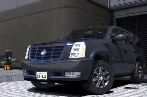 2007 Cadillac Escalade [Add-On/Replace | Template | LODS]