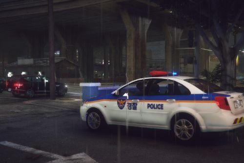 2007 Chevrolet Lacetti KRPD police car (구 GM대우)라세티 한국경찰차