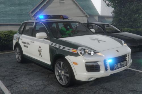 2007 Porsche Cayenne Turbo [957] Guardia Civil Trafico (spain traffic police) [No-els]