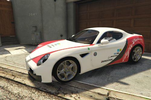 2008 Alfa Romeo 8C Competizione - Alfa Romeo Sport / Racing [Paintjob]