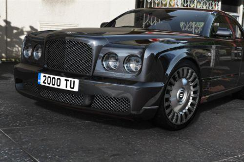 2008 Bentley Brooklands [Add-On | LHD/RHD]