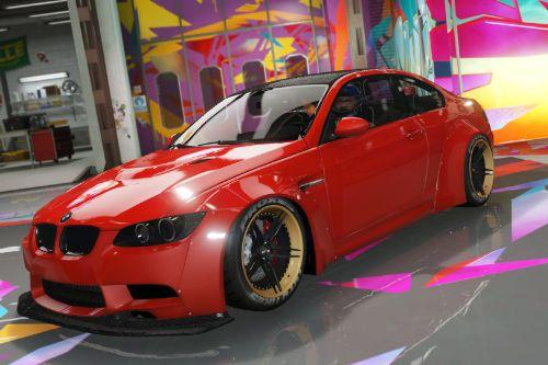 2008 BMW M3 (E92) Liberty Walk [REPLACE]