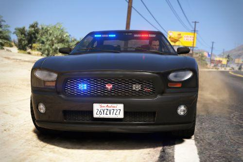 '08 Bravado Buffalo A/C (Police Pack) [Add-On | Template | Sound | Handling]