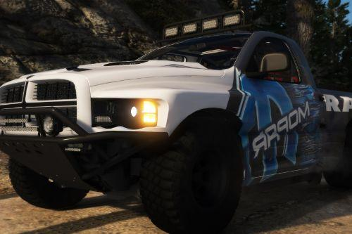 2008 Dodge Ram SRT-10 Runner [Add-On | Extras | Tuning | Liveries]