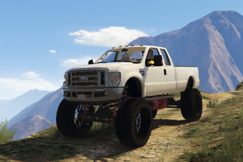 2008 Ford F350 Superduty Lifted
