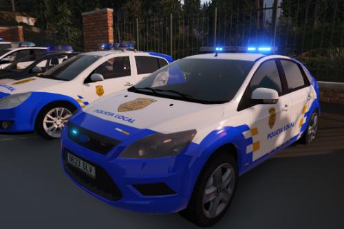2008 Ford Focus Policia Local Canaria Canary islands police