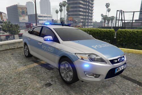 2007 Ford Mondeo MKIV liftback Autobahnpolizei (Alarm Für Cobra 11)