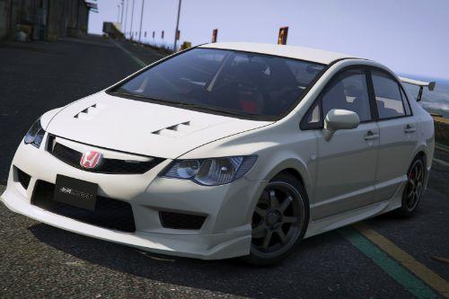 2008 Honda Civic Type-R (FD2) [[Add-On | Tuning | Mugen | J'S Racing | Template]