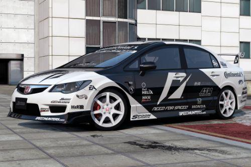 [2008 Honda Civic Type-R (FD2)]Need For Speed livery