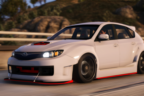 2008 Subaru WRX STi [Add-on | 100+Tuning]