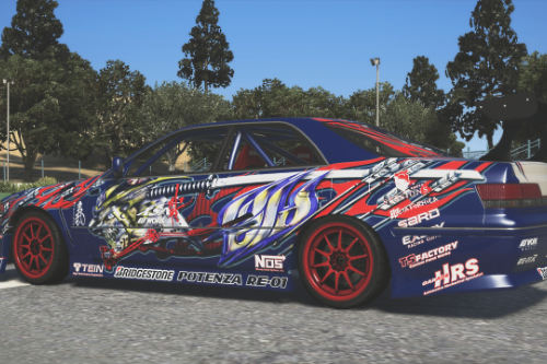 2008 Toyota Mark II JZX100 – Weld Techniques Factory Livery (4K)