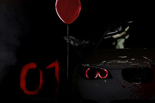 2009 BMW M5 (E60) Blood Vinyl