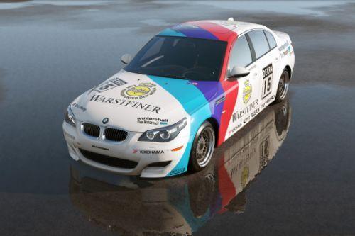 [2009 BMW M5 (E60)]WARSTEINER livery