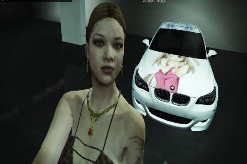 2009 BMW M5 Livery