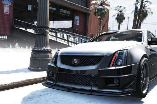 2009 Cadillac CTS-V [Add-On / Replace]