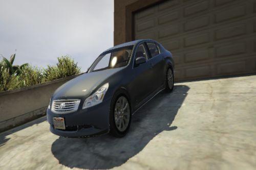 2009 Infiniti G37 S (Sedan) - GTA 5 (Unlocked)