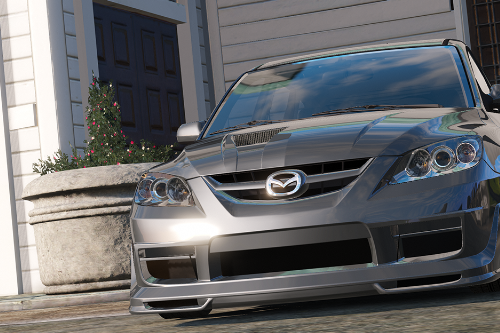 2009 Mazda Speed 3 [ Add-on / Tuning / Livery / Template ]