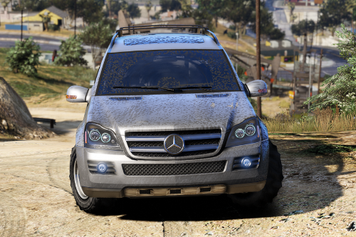 Mercedes-Benz GL450 [Add-On / Replace | Tuning]