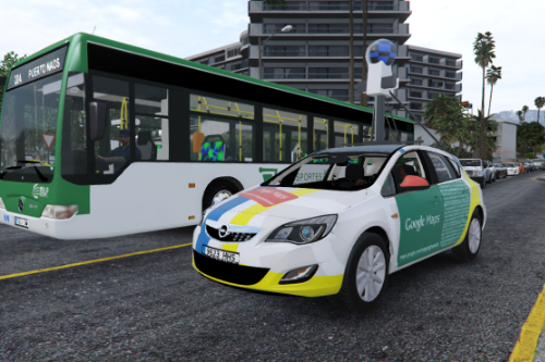 2009 Opel Astra J Google Maps Street View car [Add-on-Replace]