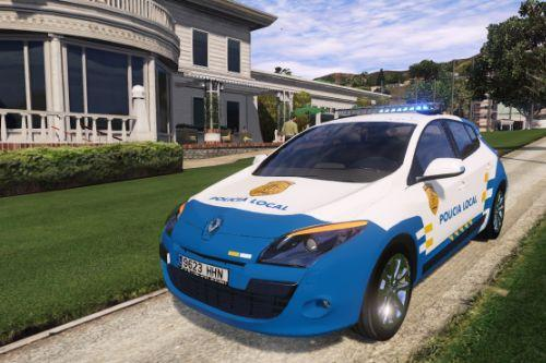 2009 Renault Megane Policia Local Canaria [Replace/ELS]