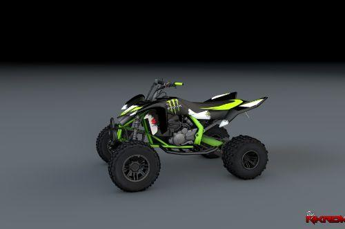 2009 Suzuki LTR 450 - Monster Energy
