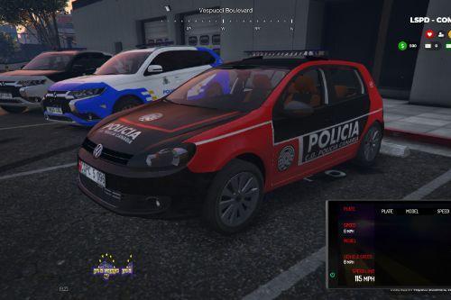 🇮🇨 C.G. Policia Nacional Canaria 2009 Volkswagen Golf VI (Canary Islands Police)