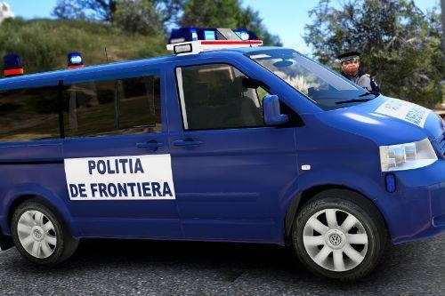 2009 Volkswagen T5 Multivan Politia de Frontiera
