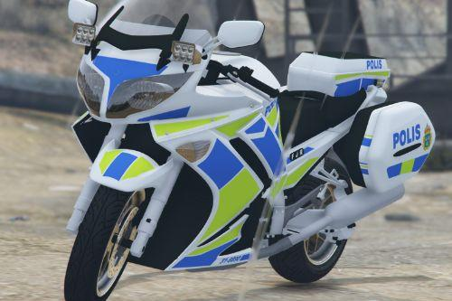 2009 Yamaha FJR1300 - Police [Swedish Livery]