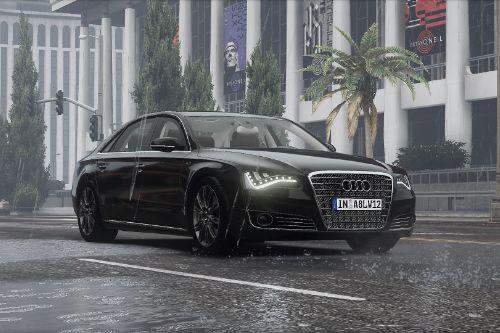 2011 Audi A8 L W12 Quattro (D4) [Add-On | tuning]