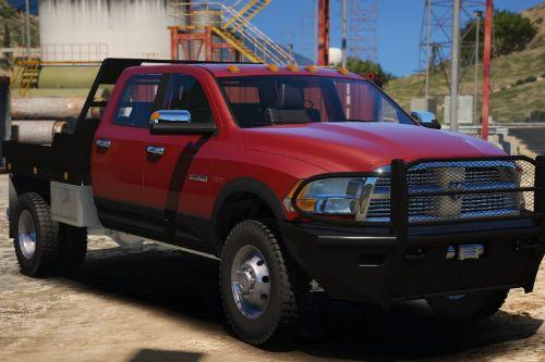 2010 Dodge Ram 3500 Steel Flatbed [ADDON]