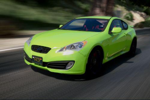 2010 Hyundai Genesis Coupe [Add-on]
