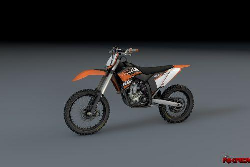 2010 KTM 450 SX-F with Liveries