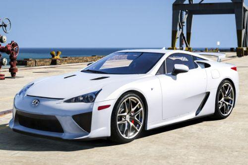 2010 Lexus LFA [Add-On | Auto-Spoiler]