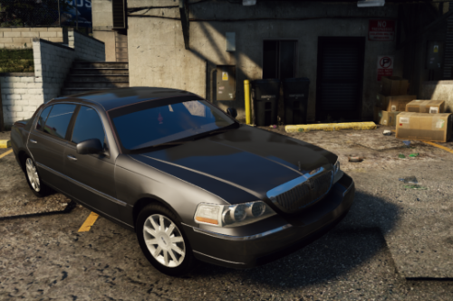 Lincoln Town Car Signature L '2010 [Add-On / Replace | Animations | LODs]
