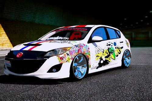 Livery for 2010 Mazda 3 Modify