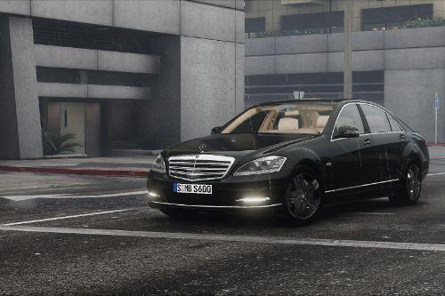 2010 Mercedes-Benz S600 L (W221) [Add-On | Tuning]