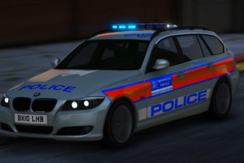2010 Metropolitan Police BMW 325d [Replace   ELS   Template]