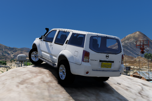 2010 Nissan Pathfinder [Replace / FiveM | Unlocked | Template | LODs]