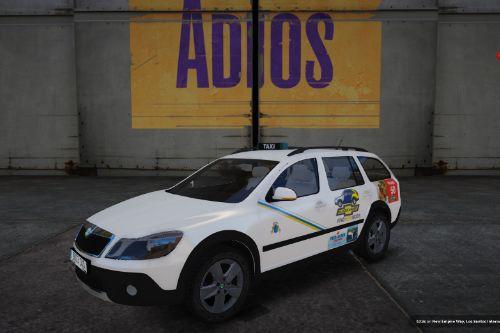 2010 Škoda Octavia Scout Taxi Canarias (Canary Islands Taxi) [Replace]