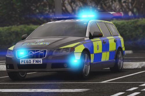 2010 Volvo V70 British Transport Police ARV [ELS]