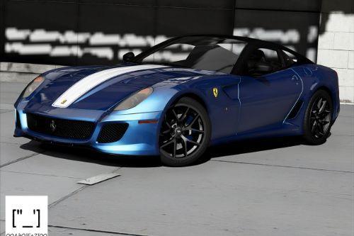 2011 Ferrari 599 GTO [Add-On | Template]